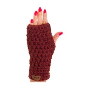 Vínově červená ručně háčkované návleky DOKE Marsala