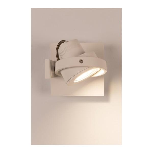 Bílé nástěnné LED svítidlo Zuiver Luci