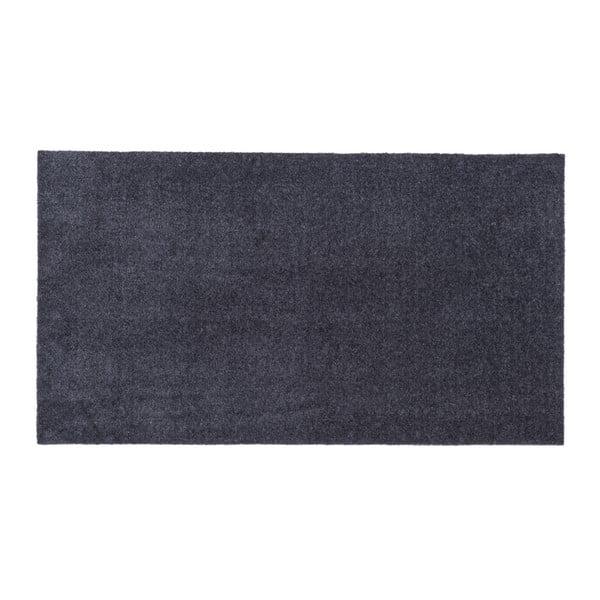 Šedá rohožka tica copenhagen Unicolor, 67x120cm