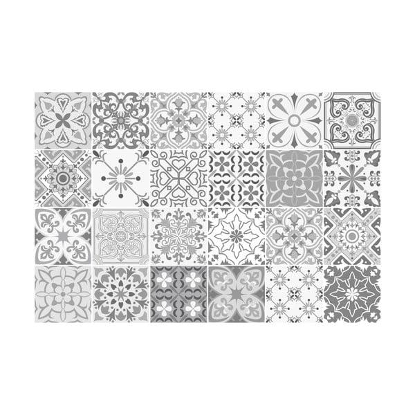 Zestaw 24 naklejek ściennych Ambiance Gythio, 15x15 cm