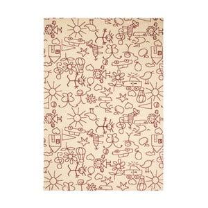 Dětský hnědý koberec Zala Living Bambini, 140x200cm