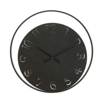 Ceas de perete Mauro Ferretti Circle, ⌀ 60 cm, negru