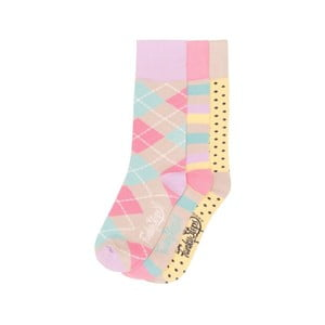 Sada 3 párů barevných ponožek Funky Steps Cairo, vel. 35-39