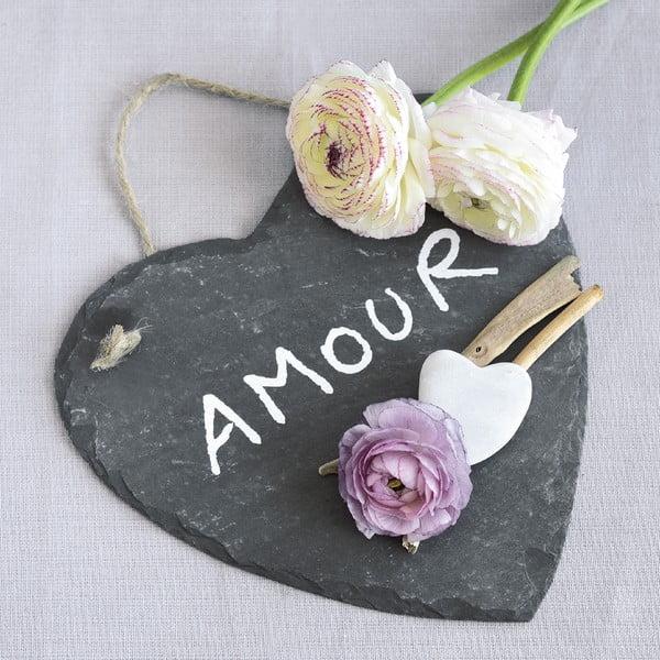 Skleněný obraz Amour, 20x20 cm