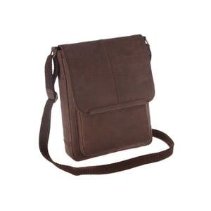 Kožená taška na iPad Earth