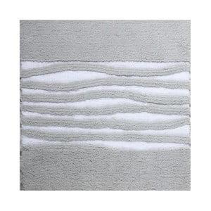 Koupelnová předložka Morgan Silver Grey, 60x60 cm