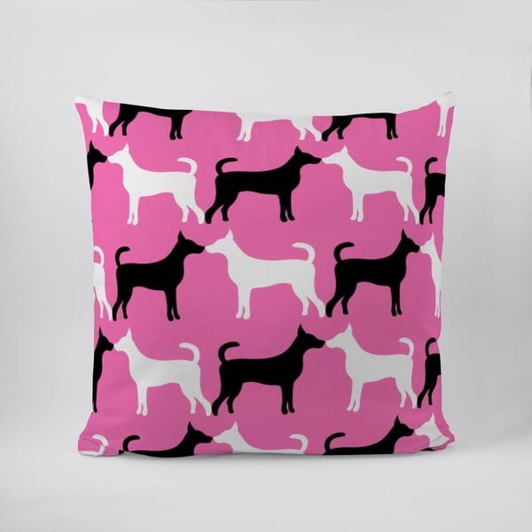 Polštář Pink Dog
