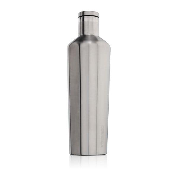Stříbrná termolahev Corkcicle Canteen, 740 ml