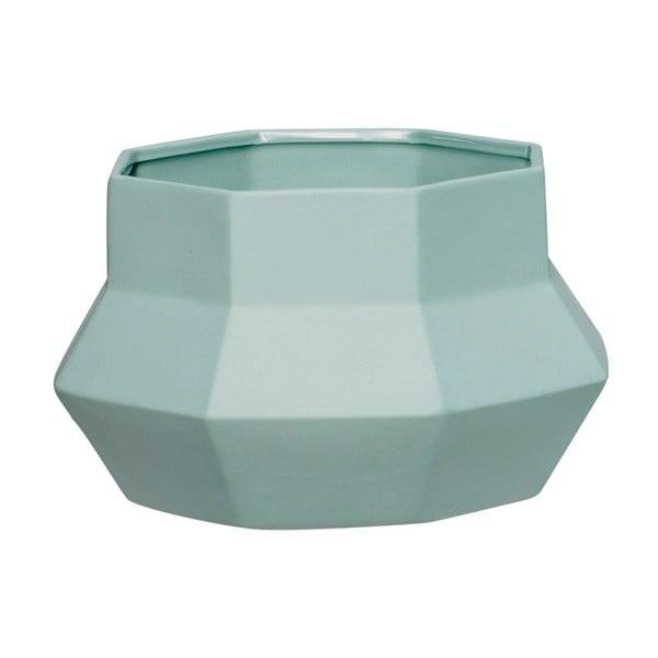 Cană din ceramică Hübsch Potty, verde