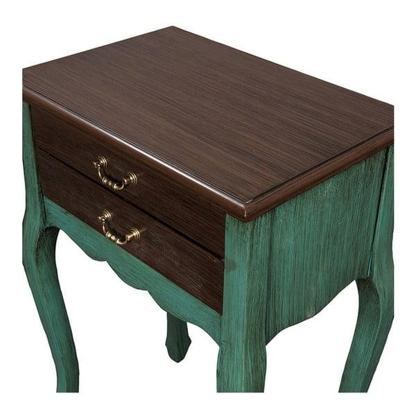 Odkládací stolek Orfeo Patine, 53x35x72 cm