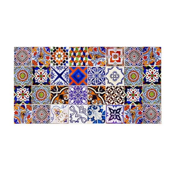 Koberec z vinylu Collage, 50x100 cm