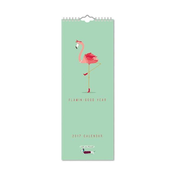 Úzký kalendář Portico Designs Call Me Frank