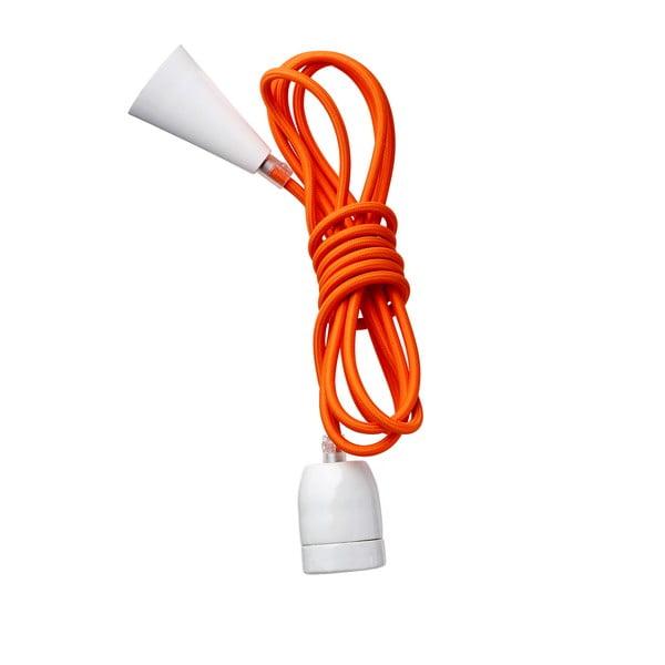 Textilní barevný kabel Kit Naranja
