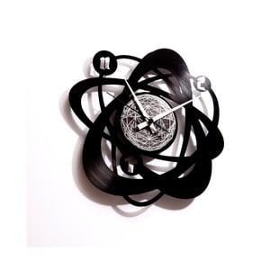 Vinylové hodiny Atomium