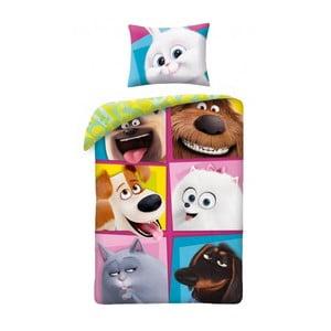 Dětské bavlněné povlečení Halantex The Secret Life of Pets 2 Doggie, 140 x 200 cm