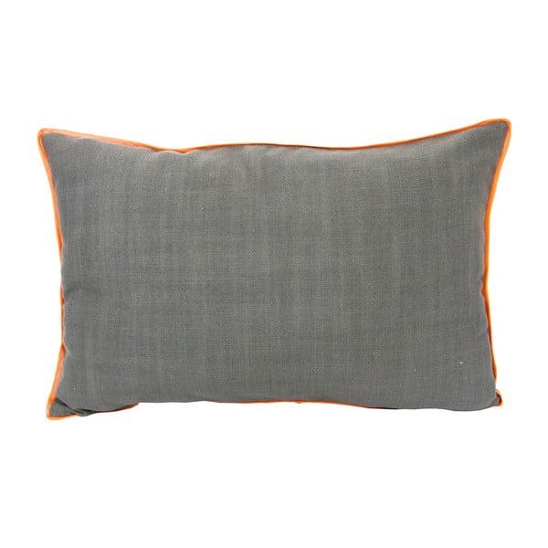 Polštář s oranžovým lemem 40x60 cm