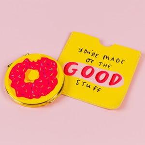 Kapesní zrcátko s obalem Happy News Good Stuff