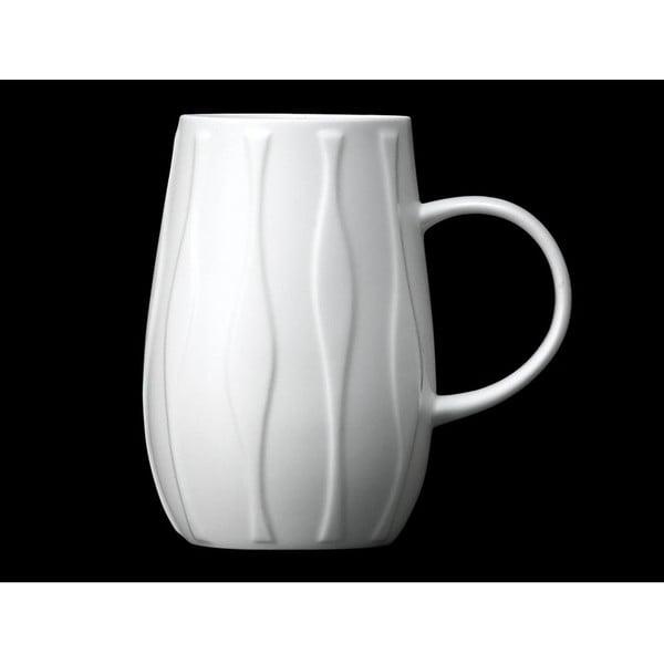 Hrnek z kostního porcelánu Droplet Wave
