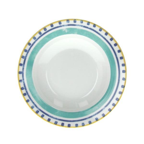 Sada 6 polévkových talířů Moon Ink