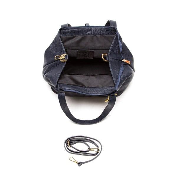 Kožená kabelka Isabella Rhea 1116 Blu