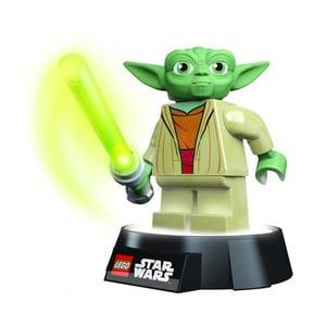 LEGO baterka a noční lampa Yoda