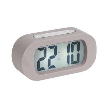 Ceas cu alarmă Karlsson Gummy, gri de la Karlsson