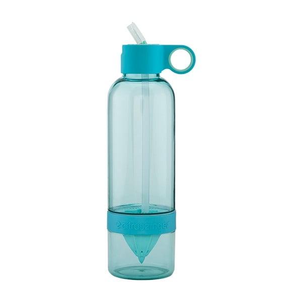 Citruszinger Sport, lahev na vodu a ovoce, modrá