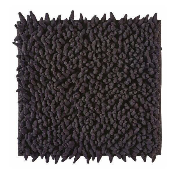 Koupelnová předložka Ziza Black, 60x60 cm