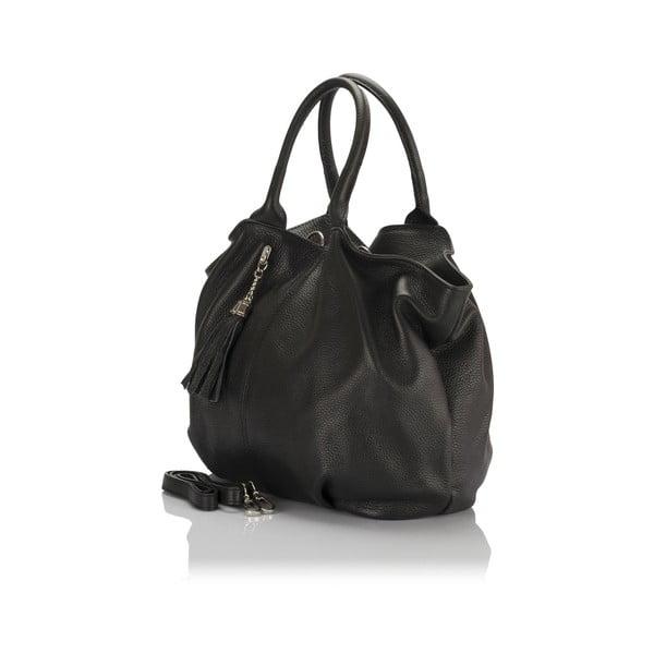 Kožená kabelka Markese 5021 Black