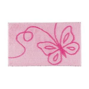 Koupelnová předložka Patara Pink, 60x100 cm