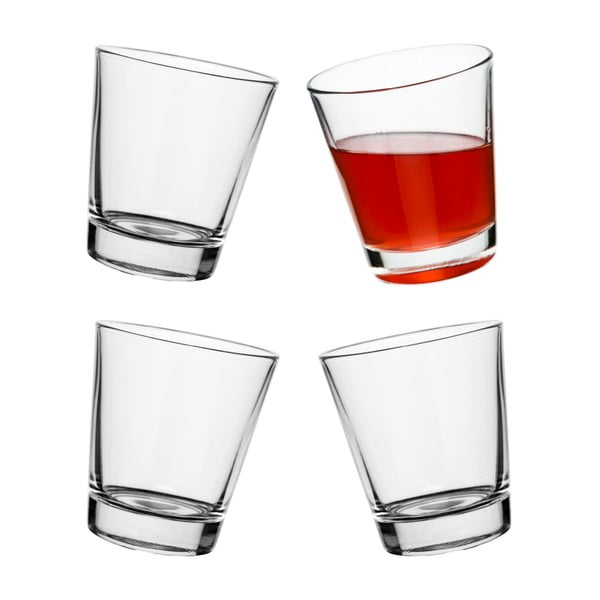 Sada 4 houpacích sklenic Sagaform