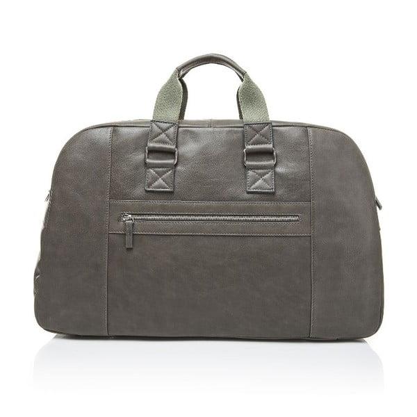 Pánská kožená taška Ferruccio Laconi 100 Dark Green