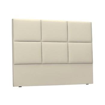 Tăblie tapițată pentru pat THE CLASSIC LIVING Aude, 180x120cm, bej imagine
