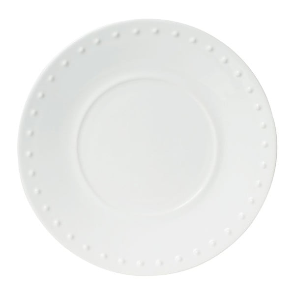 Sada 4 ks dezertních talířů Caravane White