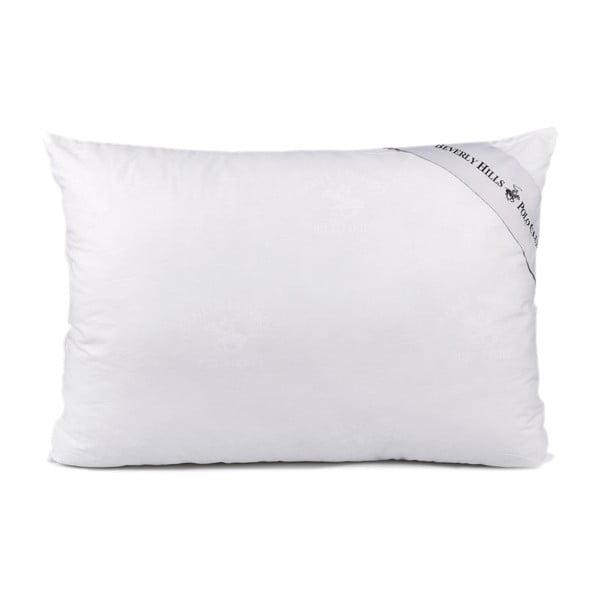 Białe bawełniane wypełnienie Nelsy, 50x70 cm