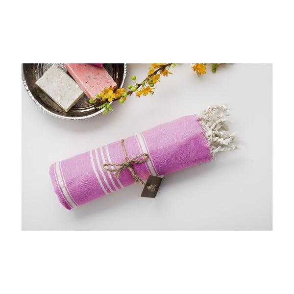 Hamam osuška Sabba Light Pink, 100x180 cm
