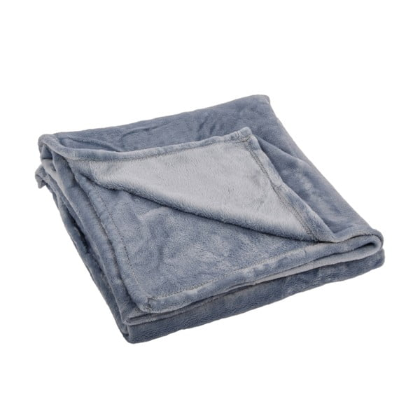 Pléd Toison Silver Blue, 125x150 cm