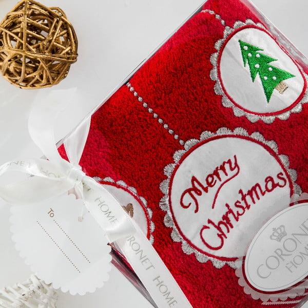 Osuška v dárkovém balení Christmas V1, 50x90 cm