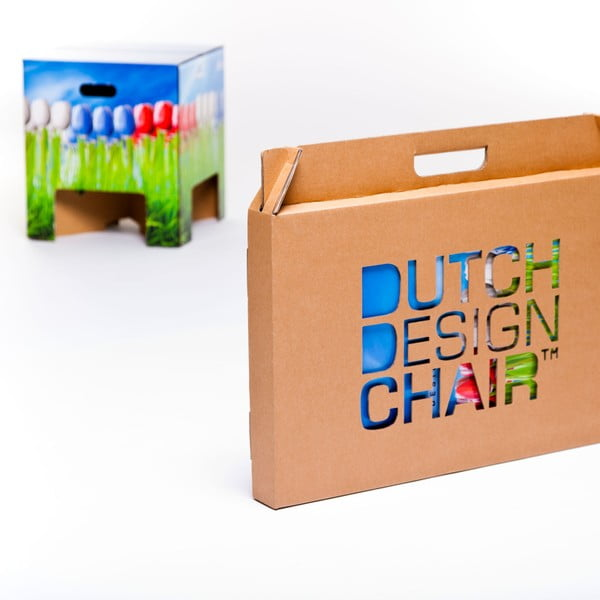 Stolička Dutch Design Chair World Tulips
