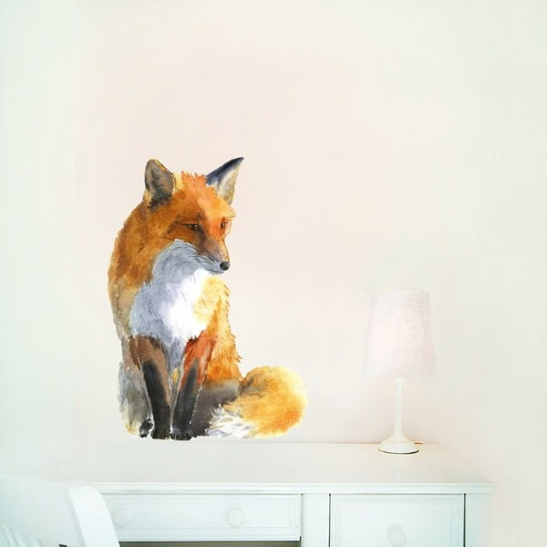 Autocolant refolosibil Fox Small, 42x30 cm