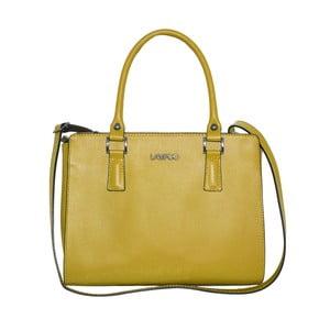 Žlutá kožená kabelka Lampoo Clubbo