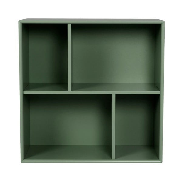 Tmavě zelená police Tenzo Z Cube, 70x70cm