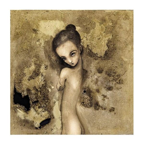 Autorský plakát od Lény Brauner Žhářka, 40x40 cm