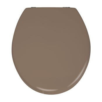 Capac WC din lemn Capac WC Wenko Prima, 41 x 38 cm, bej mat imagine