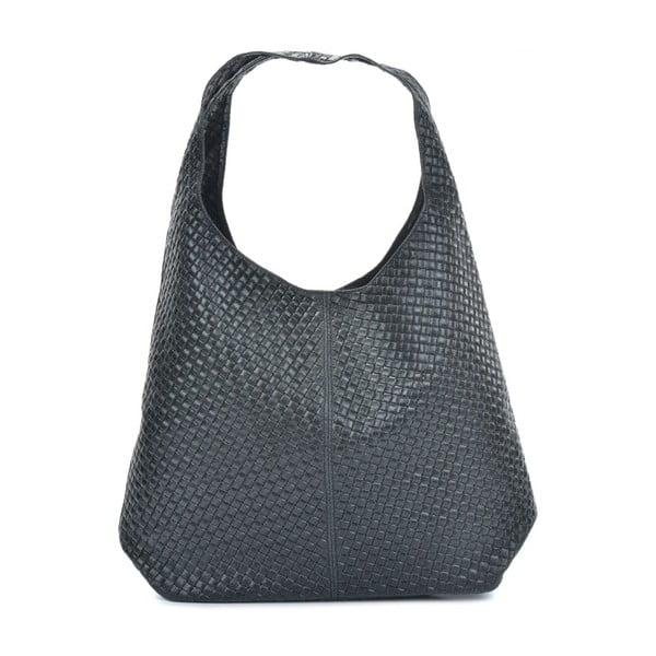 Bags Abelie fekete bőr kézitáska - Mangotti Bags