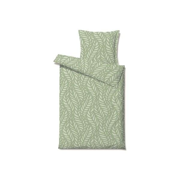Povlečení Palm Knit Green, 140x200 cm
