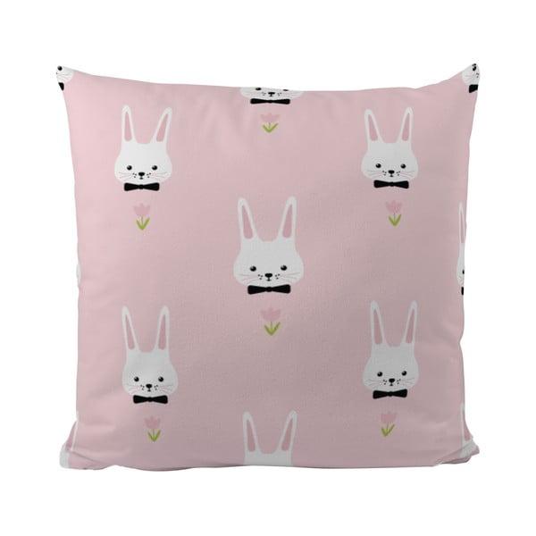 Polštář Pink Bunnies, 50x50 cm