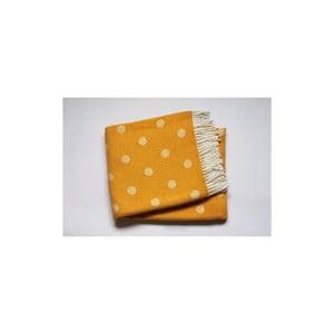 Deka Sevilla Plaid Yellow, 140x180 cm