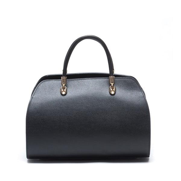 Kožená kabelka Mangotti 415, černá