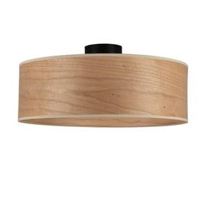Stropní svítidlo se stínidlem ze dřeva třešně Sotto Luce TSURI XL